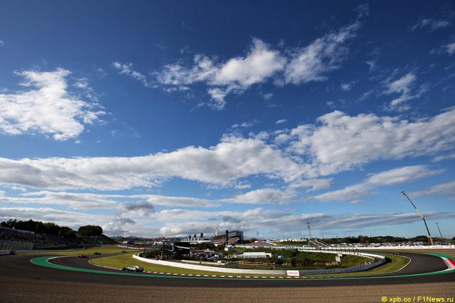 Квалификация Гран-при Японии из-за тайфуна перенесена навоскресенье