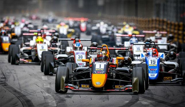 Старт Гран При Макао 2018 года