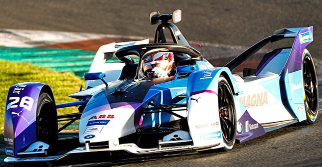 Формула E: В Валенсии завершились предсезонные тесты