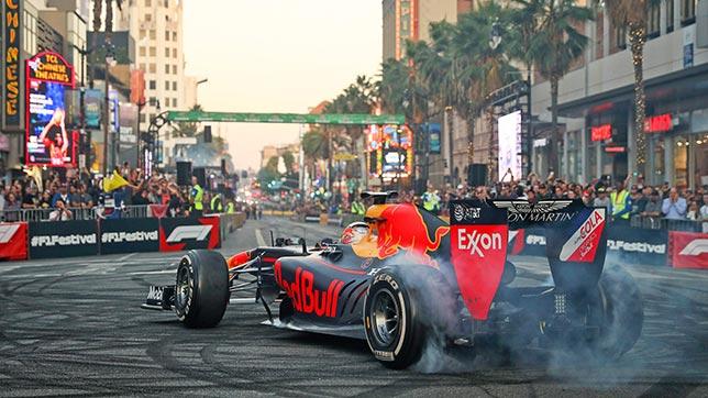 Фестивать Формулы 1. PHOTOGRAPHY:RED BULL CONTENT POOL   GETTY IMAGES