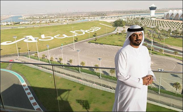 Исполнительный директор автодрома Яс-Марина Аль Тарек Аль Амери. Фото: Seven Media