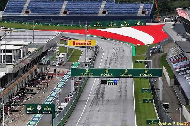 Стартовое поле Гран При Австрии 2020