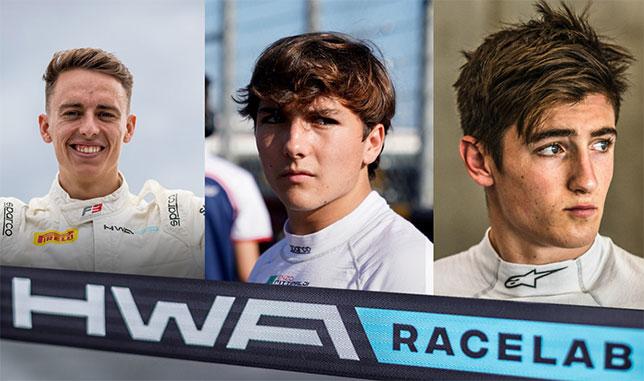Ф3: Фиттипальди и Дуэн будут выступать за HWA