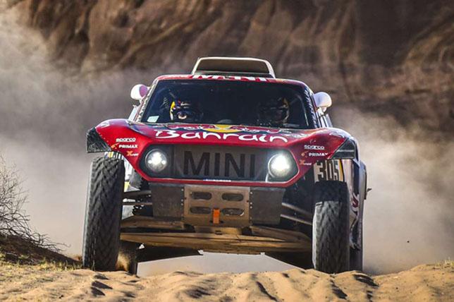 Дакар: Карлос Сайнс выиграл пятый этап