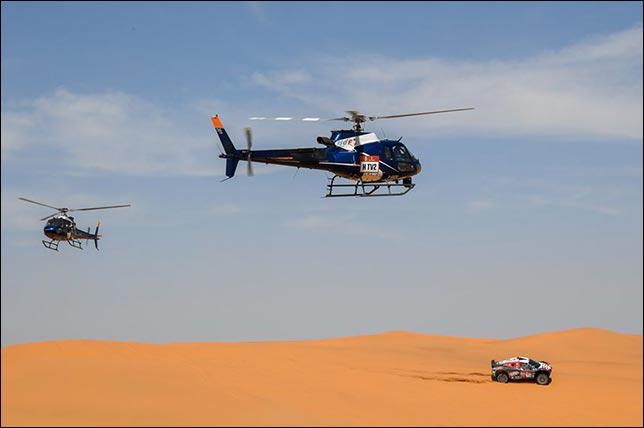 Дакар: Серрадори выиграл 8-й этап, Алонсо – второй