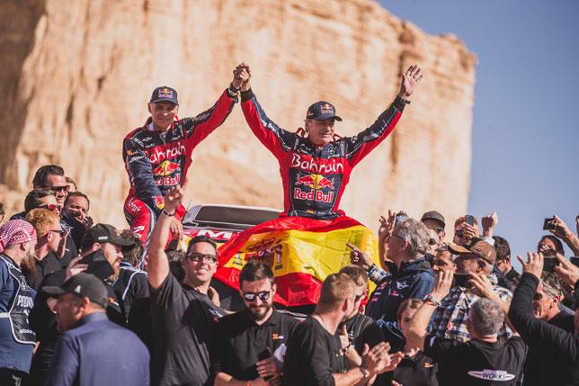 Карлос Сайнс: Я горжусь этой победой