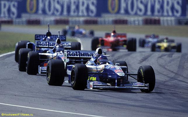 Жак Вильнёв на Гран При Аргентины 1997 года