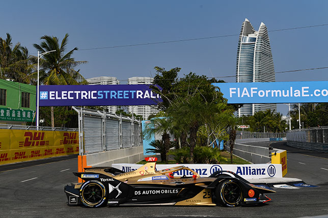 В 2019 году победа на китайском этапе Формулы E в городе Санья досталась Жану-Эрику Верню