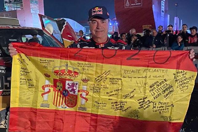 Карлос Сайнс (фото со страницы гонщика в Instagram)