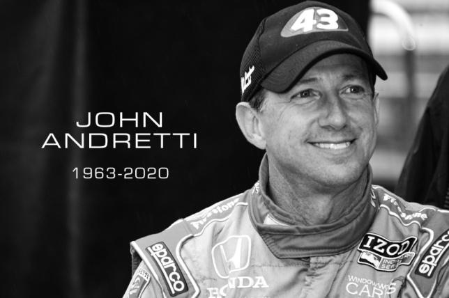 Джон Андретти, фото пресс-службы IndyCar