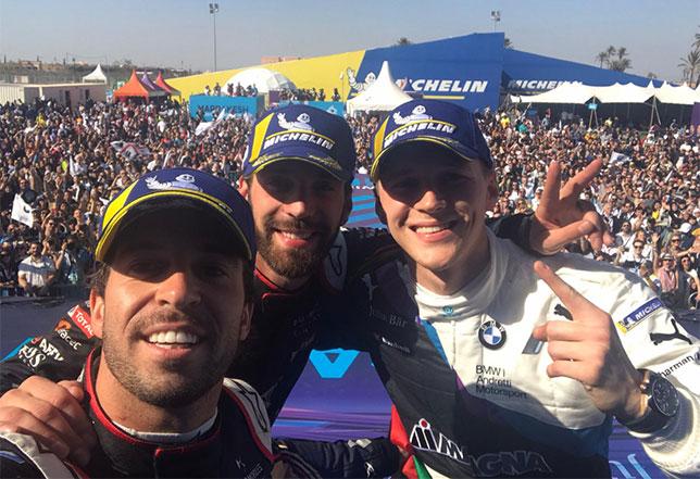 Антониу Феликс да Кошта, Жан-Эрик Вернь и Макс Гюнтер – победитель и призёры гонки в Марокко