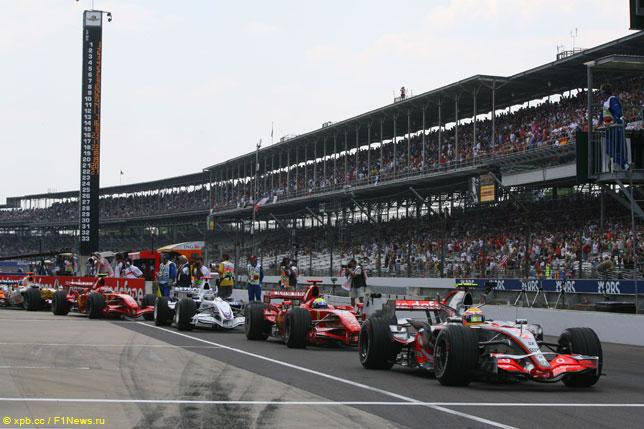 Гран При США 2007 года (квалификация)