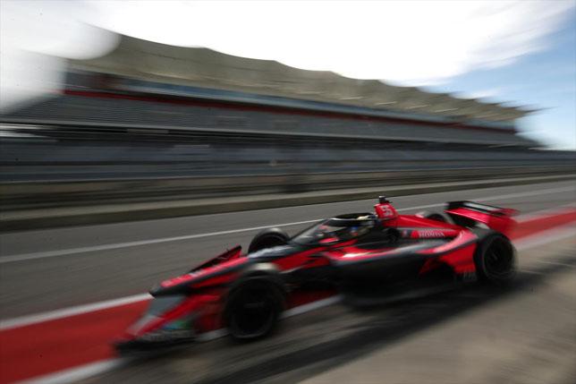 Алекс Палоу на тестах IndyCar в Остине, фото: пресс-служба IndyCar