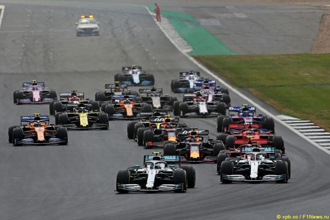 Старт Гран При Великобритании, 2019 год