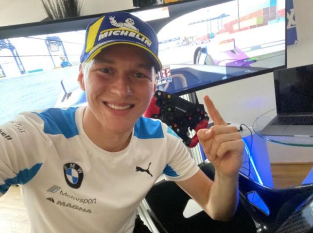 Макс Гюнтер, победитель уже двух виртуальных гонок Формулы E