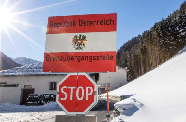 Граница Австрии с Италий остаётся на замке