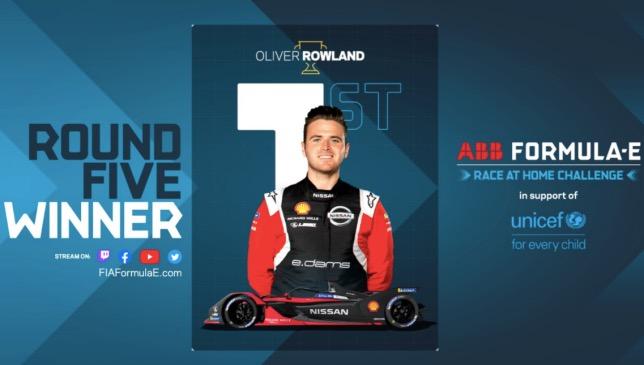 144650 - Формула E: Роулэнд выиграл виртуальную гонку в Берлине