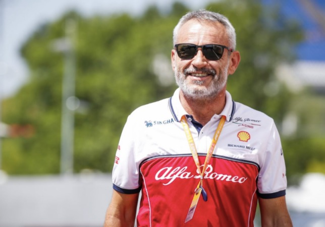 Беат Цендер, менеджер команды Alfa Romeo