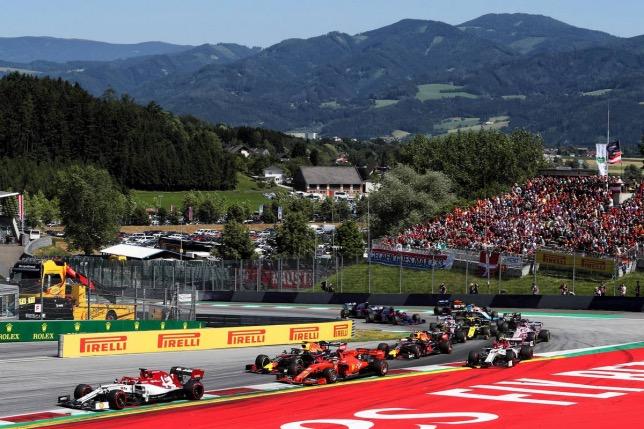 Старт Гран При Австрии, 2019 год