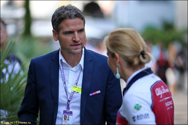 Журналист немецкого Sky Sport Петер Харденаке