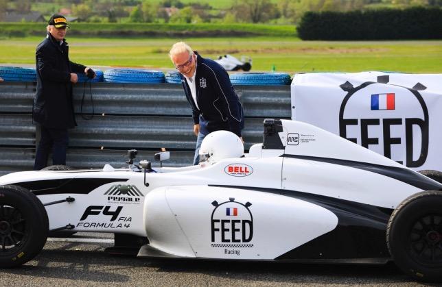 Жак Вильнёв принимает активное участие в работе гоночной школы Feed Racing