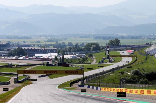 Автодром Red Bull Ring в Шпильберге, фото XPB