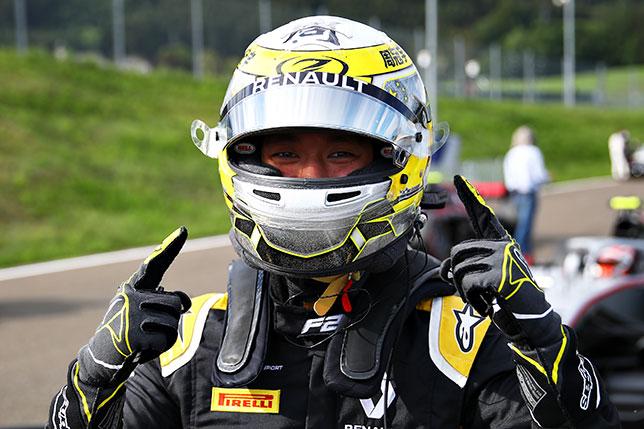 Гуан Ю Чжоу - победитель квалификации Ф2 в Шпильберге