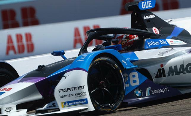 Формула E: Гонщик BMW Макс Гюнтер дисквалифицирован