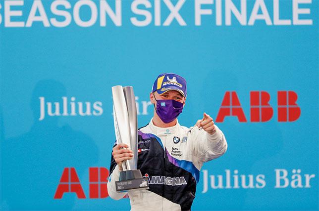Макс Гюнтер, победитель третьей гонки берлинской серии