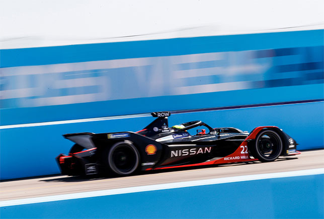 Формула E: Пятую берлинскую гонку выиграл Роулэнд