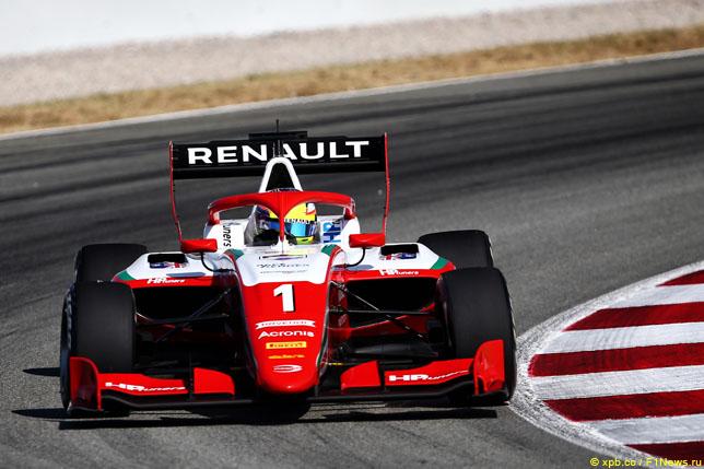 Ф3: Оскар Пиастри одержал вторую победу в сезоне