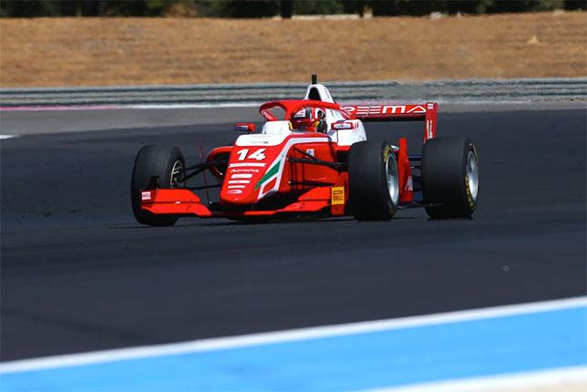 Артур Леклер делает успехи в Формуле Regional