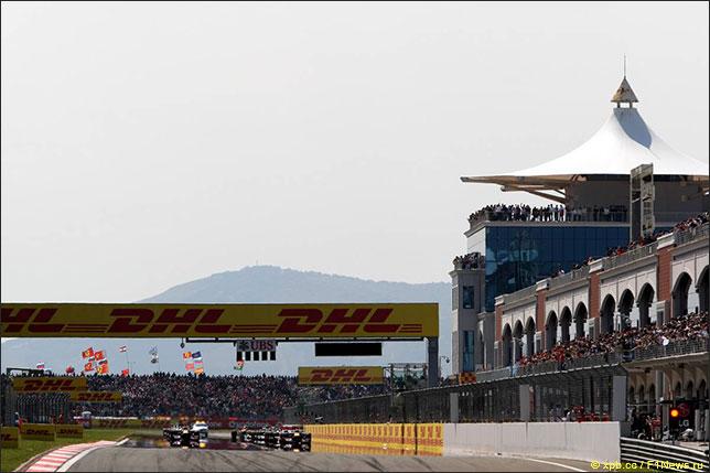 Старт Гран При Турции 2011 года