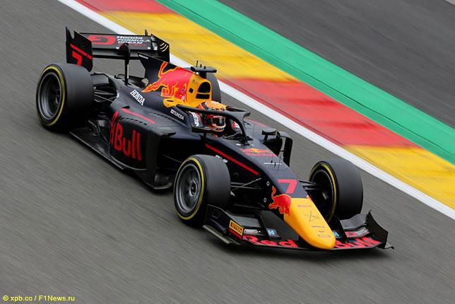 Формула 2: Поул в Спа выиграл Цунода, Мазепин – второй