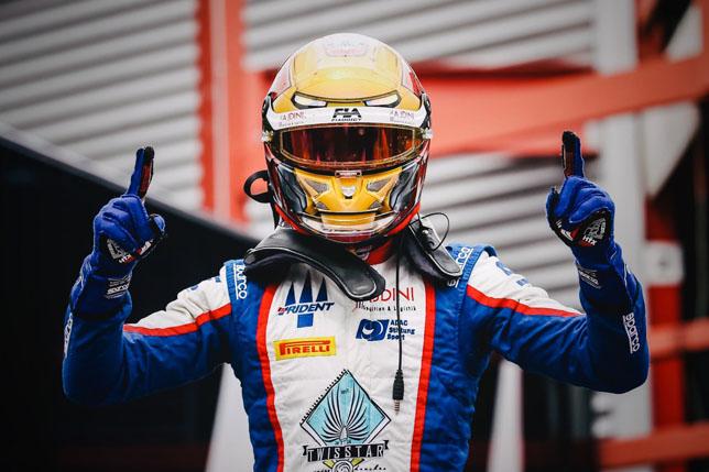 Лирим Цендели одержал первую победу в Формуле 3
