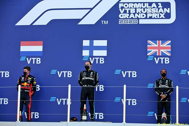 Подиум Гран При России