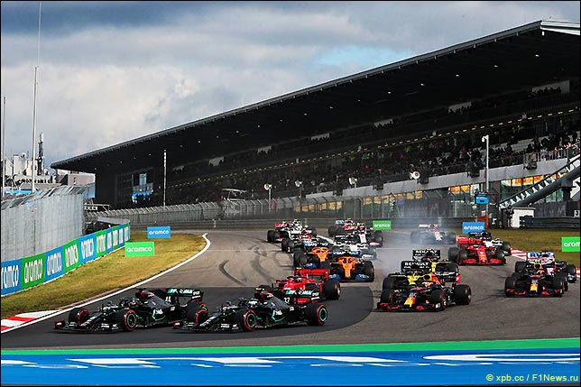 Старт Гран При Айфеля
