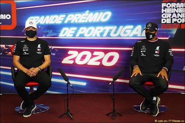 Гран При Португалии: Пресс-конференция в четверг
