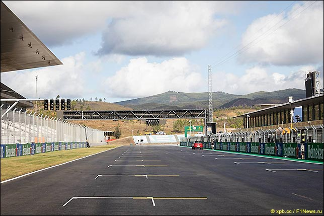 Стартовое поле Гран При Португалии 2020