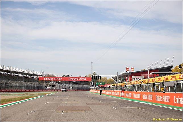 Стартовое поле Гран При Эмилии-Романьи 2020