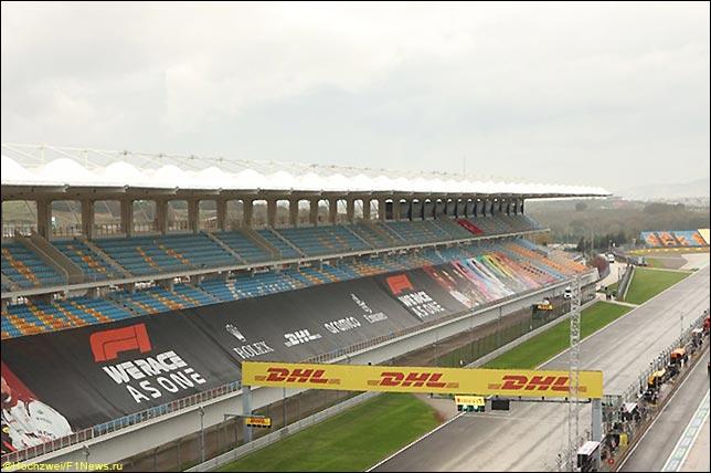Стартовое поле Гран При Турции 2020