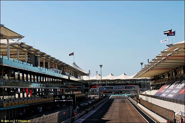 Стартовое поле Гран При Абу-Даби 2020