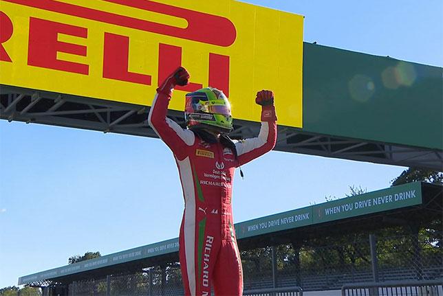 Формула 2: Мик Шумахер выиграл гонку в Монце