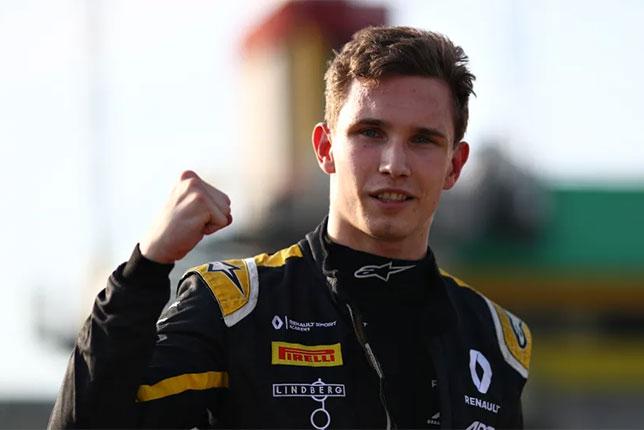 Кристиан Лундгард - победитель квалификации в Муджелло, фото Формулы 2