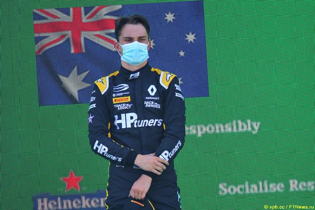 Оскар Пиастри – чемпион Формулы 3 2020 года