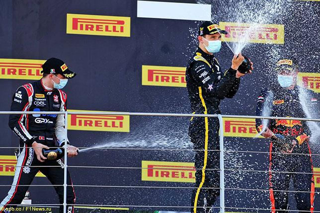 Формула 2: Воскресный спринт выиграл Лундгард