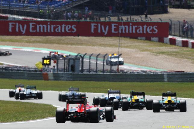 Гонка Формулы 1 в последний раз проводилась на Нюрбургринге в 2013 году