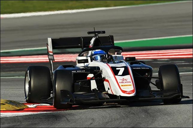 Формула 3: Новалак лидирует во второй день тестов