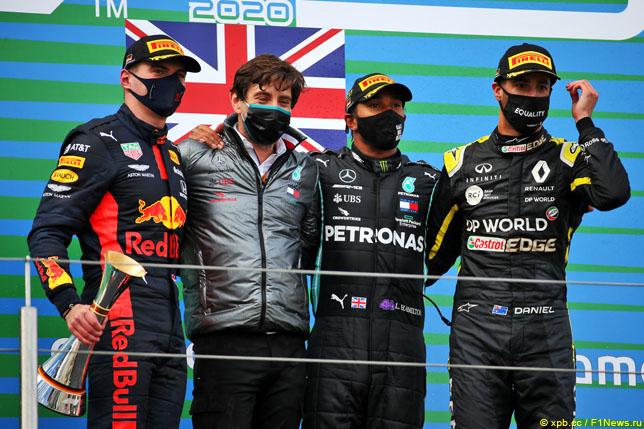 Подиум Гран При Айфеля