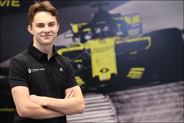 Пиастри, Лундгард и Чжоу проведут тесты с Renault